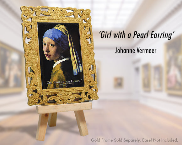 'Girl with a Pearl Earring' - Johanne Vermeer (1665)