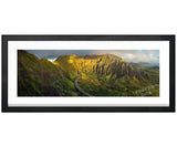Koolau Mountains Aerial View