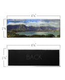 Kaneohe Bay with Koolau Mountain Panoramic Magnet