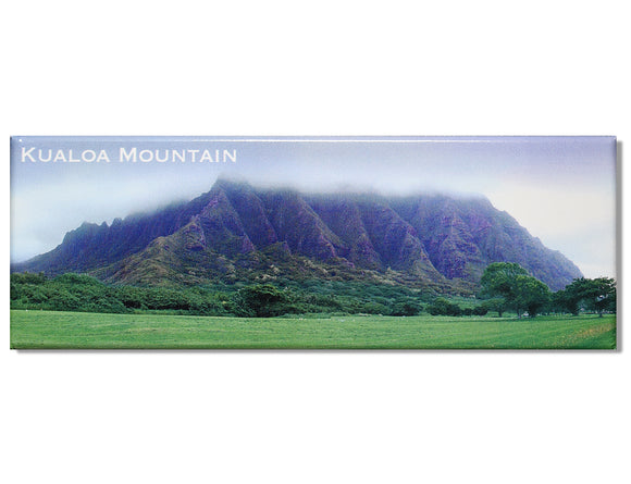 Kualoa Mountain Panoramic Magnet