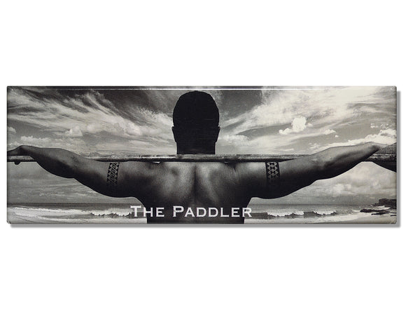 'The Paddler' Panoramic Magnet