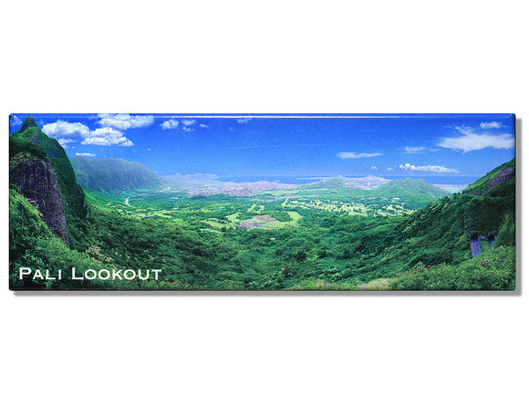 Pali Lookout Panoramic Magnet