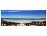 Palms at Waimanalo Panoramic Magnet