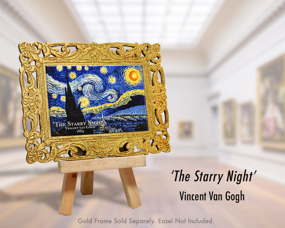 'The Starry Night' - Vincent Van Gogh (1889)