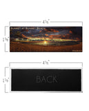 Sunset at Sunset Beach Panoramic Magnet