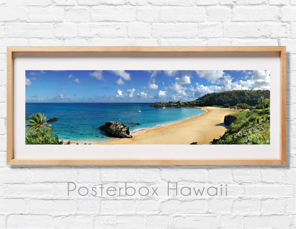 Waimea Bay Summer Panoramic