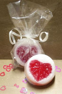 Embedded Heart Melt & Pour Soaps