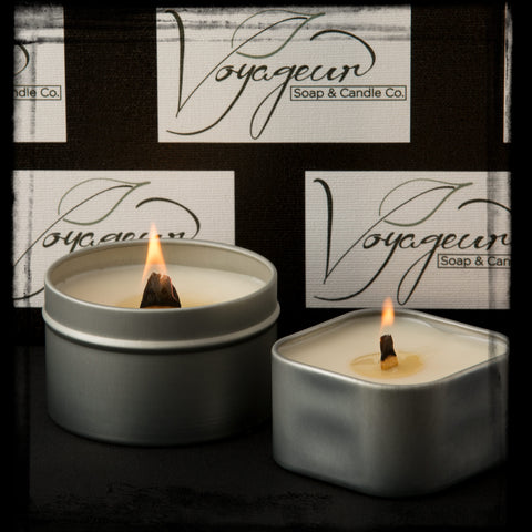 Voyageur Soap & Candle Wooden Wicks