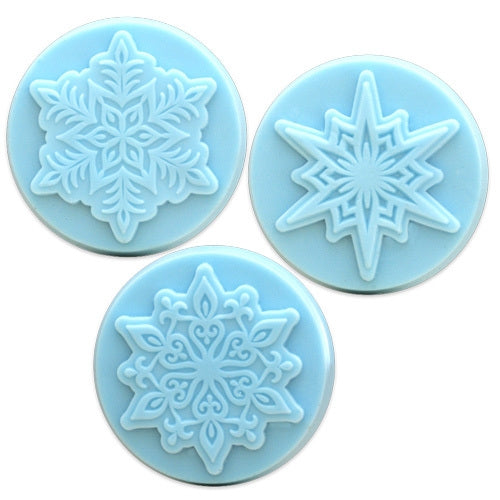 Snowflake 3 Milky Way Soap Mold