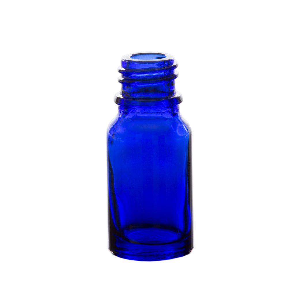 10 ml Blue Glass Essential Oil Bottle without Cap