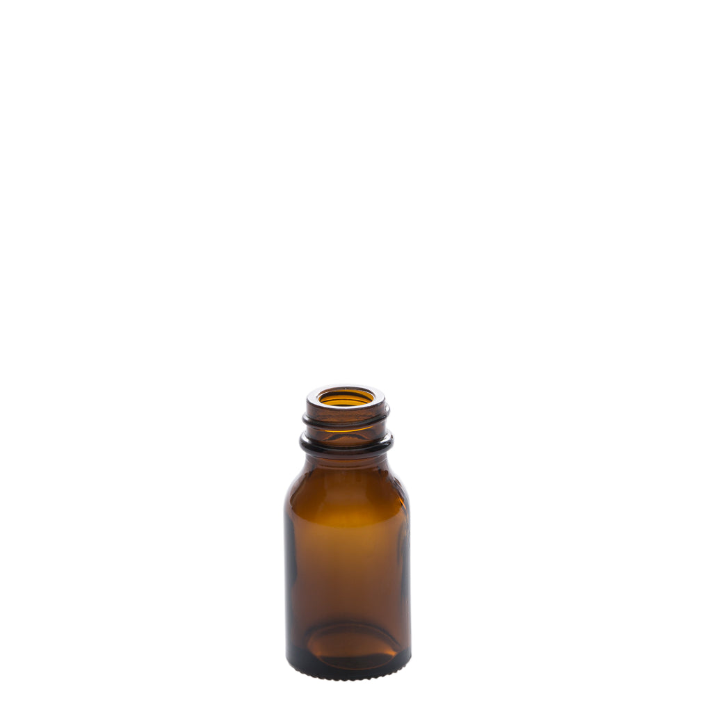 15 ml Amber Glass Bottle with 20-400 Neck