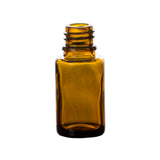 15 ml Amber Glass Essential Oil Bottle without Closure