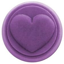 Heart Milky Way Wax Tart Mold