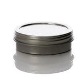 1 oz Flat Screw Top Seamless Metal Tin
