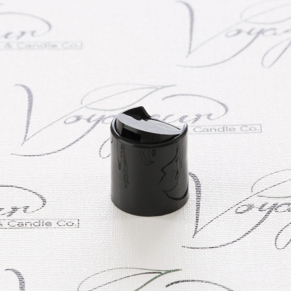 20-410 Black Smooth Disc Top Cap