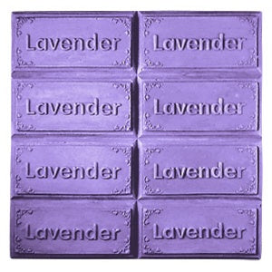 Lavender Tray Milky Way Soap Mold