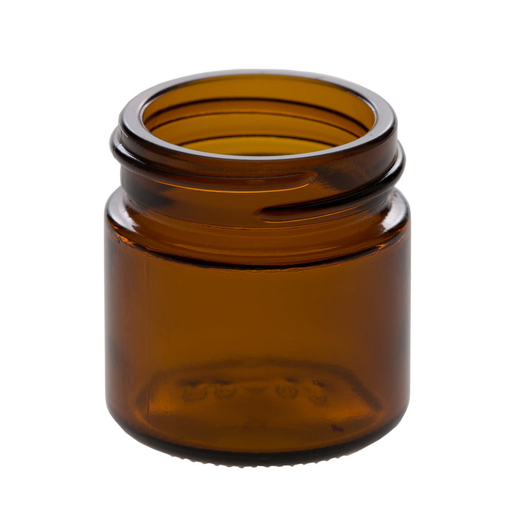 25 ml Amber Glass Jar with 38-400 Neck