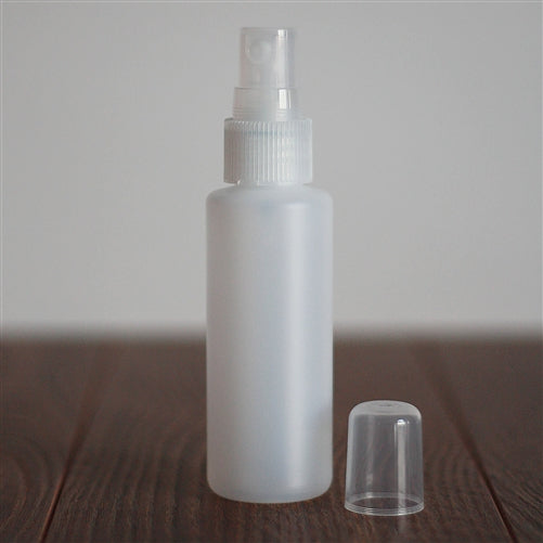 *60 ml Natural HDPE Cylinder with Mister - Natural