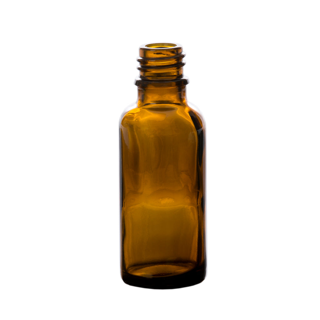 30 ml Amber Glass Essential Oil Bottle without Cap