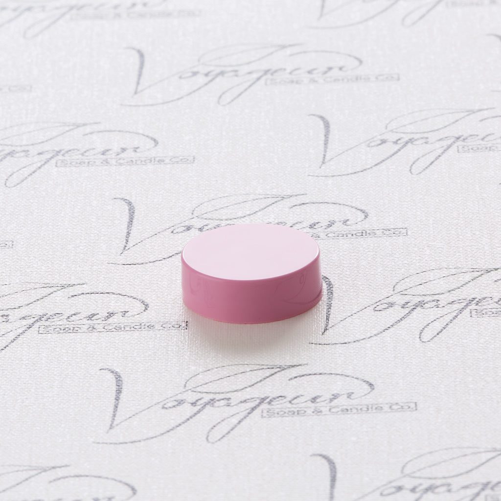 33-400 Pink Flat Gloss Smooth Cap