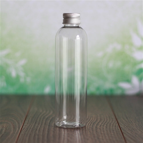 4 oz Clear PET Bullet with Aluminum Cap