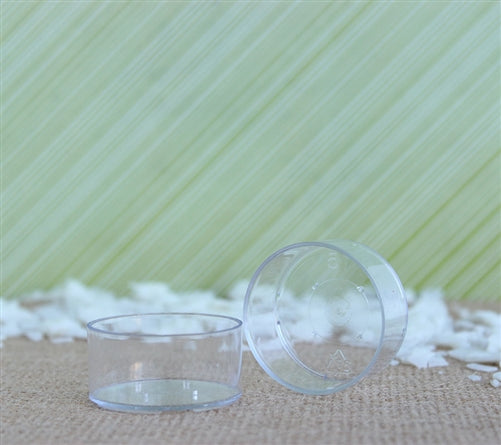 Clear Plastic Polycarbonate Tea Light Cups