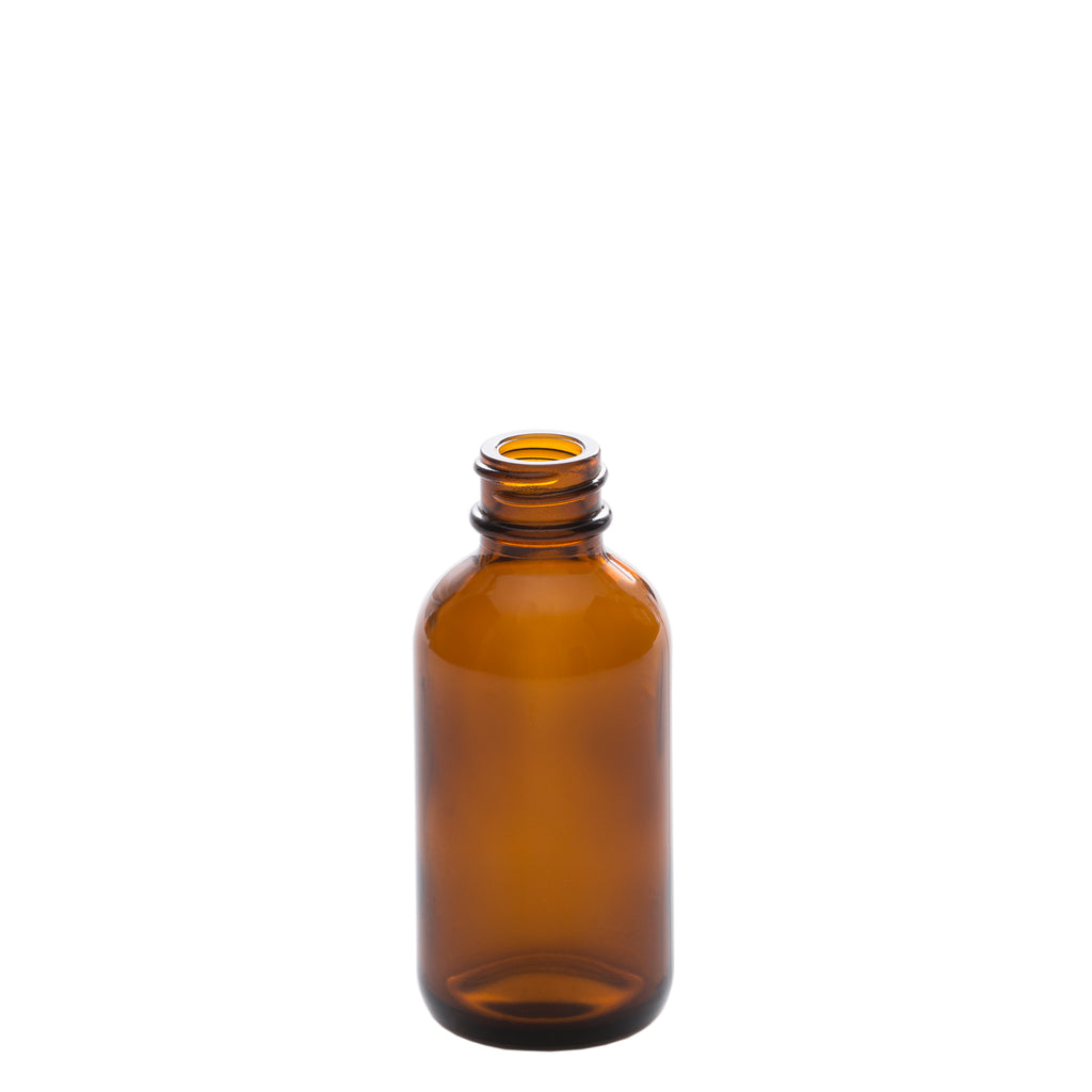 50 ml Amber Glass Bottle with 20-400 Neck