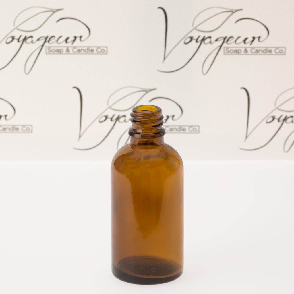 50 ml Amber Glass Essential Oil Bottle without Cap