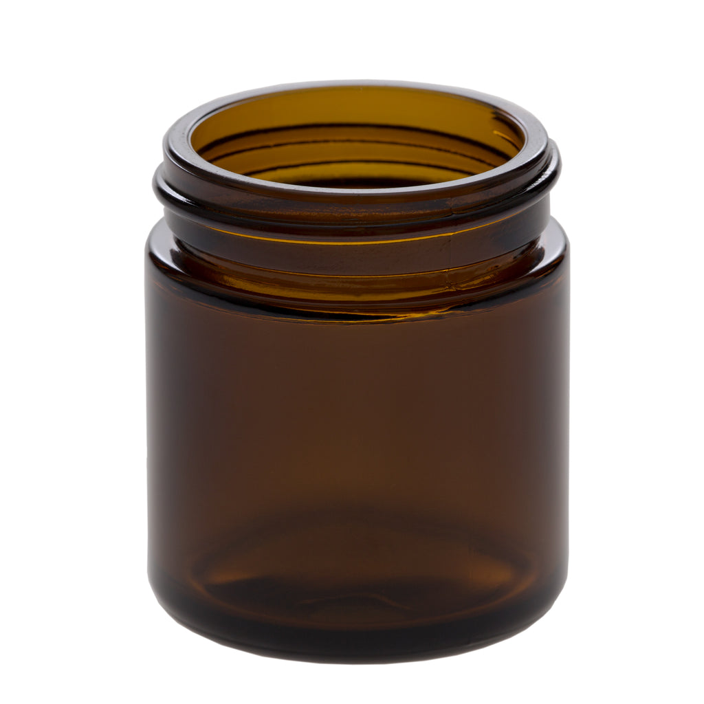 50 ml Amber Glass Jar with 45-400 Neck