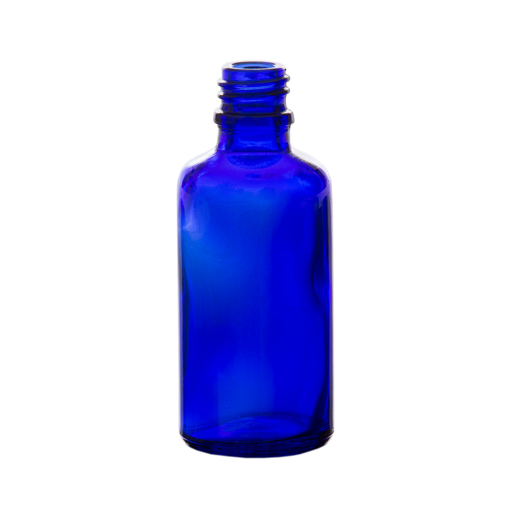 50 ml Blue Glass Essential Oil Bottle without Cap