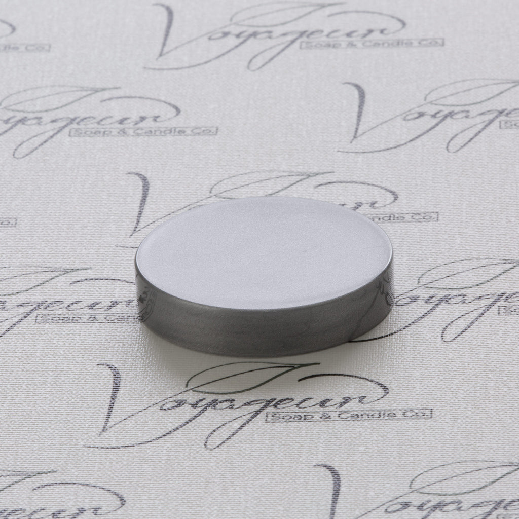 58-400 Silver Flat Gloss Smooth Cap