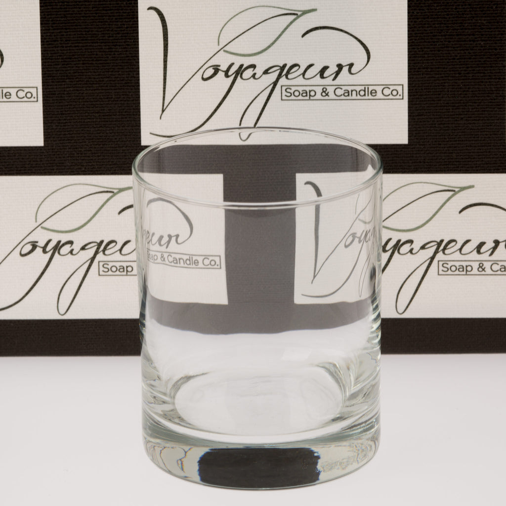 7.75 oz Lexington Old Fashioned Candle Glass