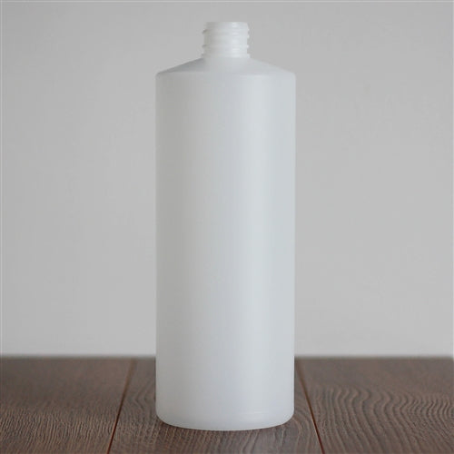 Natural HDPE Cylinder without Closure 1 Litre