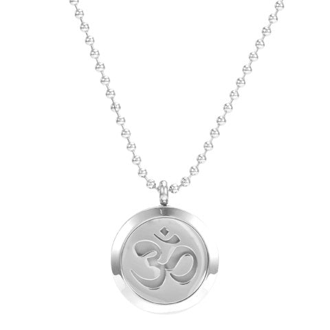 Om Unisex Aromatherapy Necklace