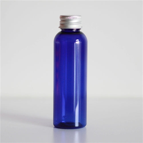 2 oz Blue PET Bullet with Aluminum Cap