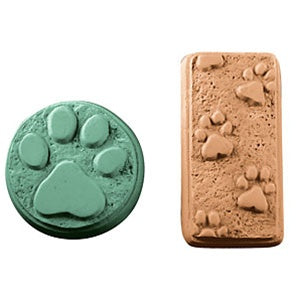 Paw Prints Milky Way Soap Mold