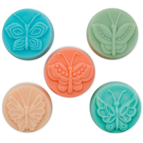 Guest 5 Butterflies Milky Way Soap Mold