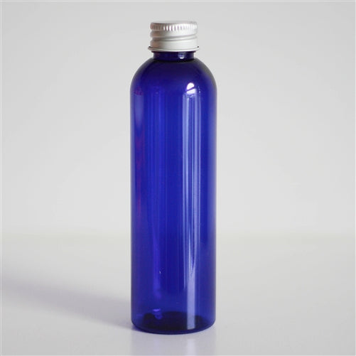 4 oz Blue PET Bullet with Aluminum Cap
