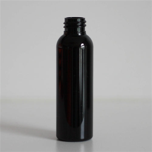2 oz Black PET Bullet Without Closure