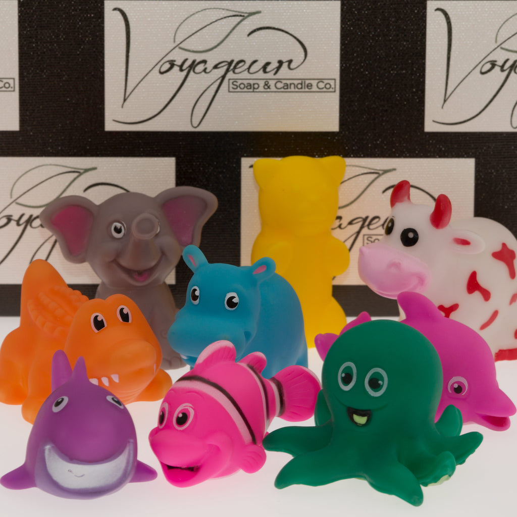 "2"" - 3"" Assorted Animal Toy Pack"