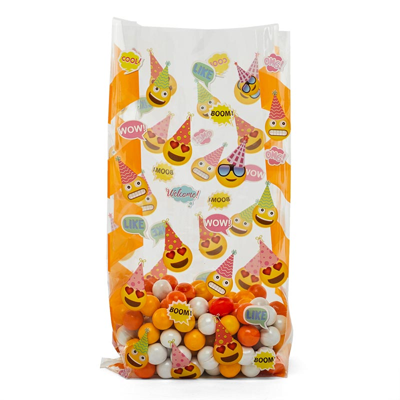 Birthday Emojis Decorative Cello Bag