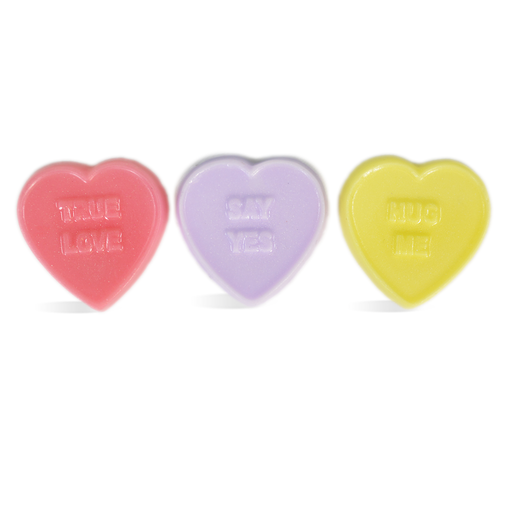Life of the Party Candy Heart Sayings Mini Mold