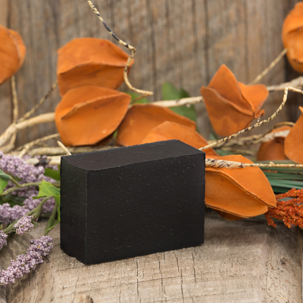 Black Charcoal Unscented Bar Soap - 5oz