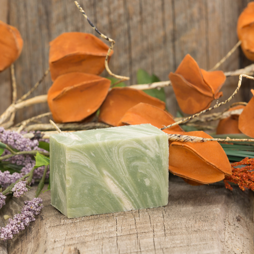 Clay & Shea Fresh Mint Bar Soap - 5oz