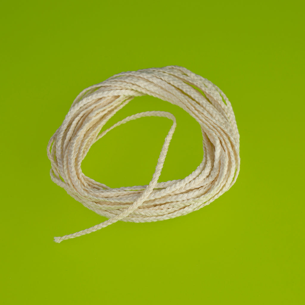 15 Ply Flat Braid Candle Wick