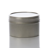 6 oz Deep Seamless Metal Tin with Window Top
