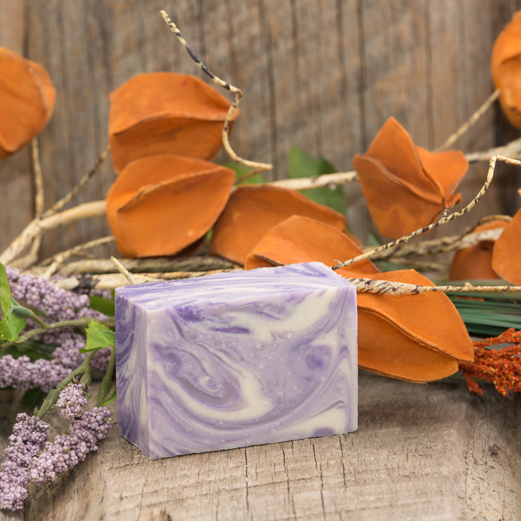 Lavender Swirl Bar Soap - 5oz