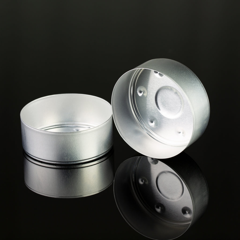 Aluminum Tea Light Cups Maxi - 57mm D x 22mm H