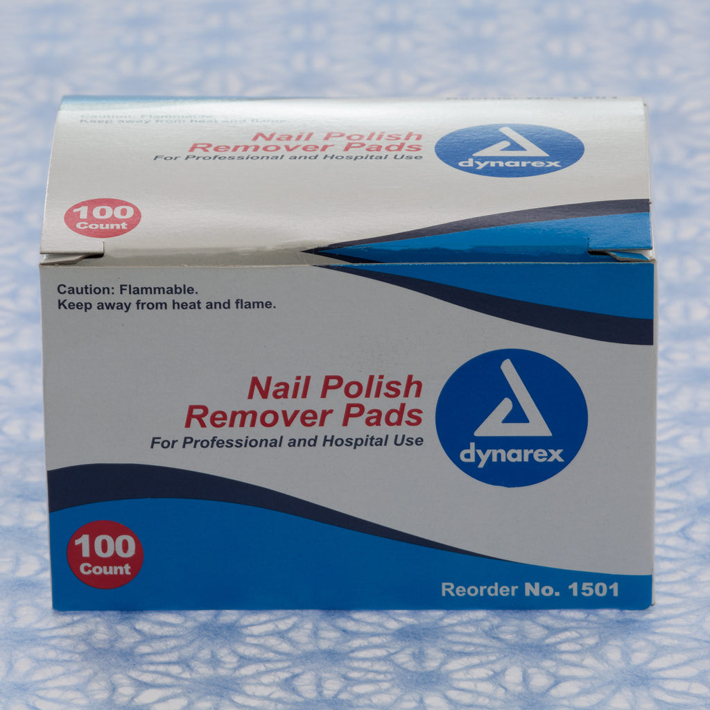 Non-Acetone Nail Polish Remover Pads