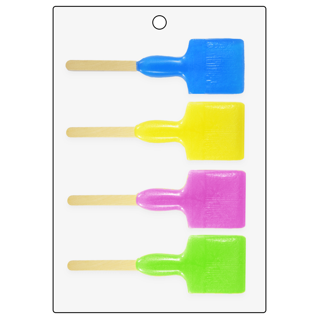 Life of the Party Paint Brush Bubble Stick Mold